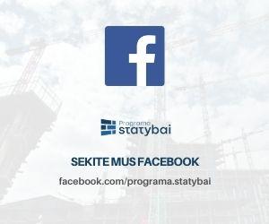 facebook programa statybai