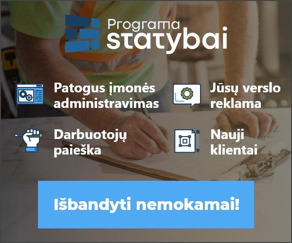 Programai statybai